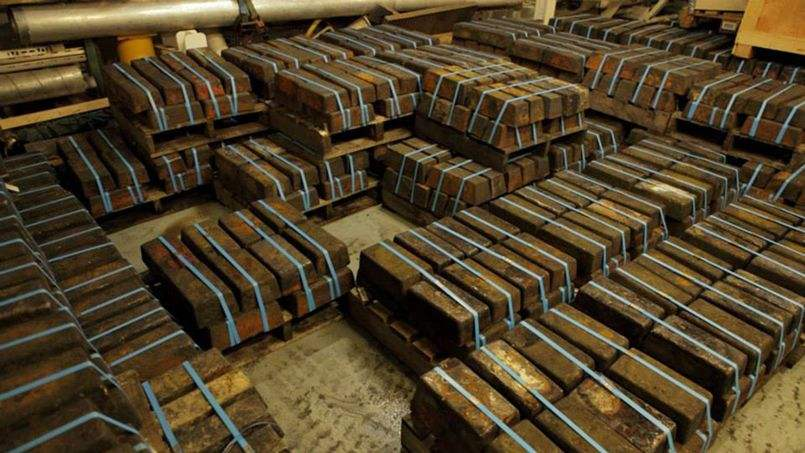 Découverte de 61 tonnes d'argent dans un navire britannique