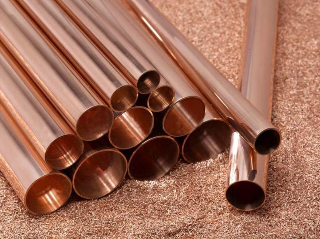 tuyaux de cuivre