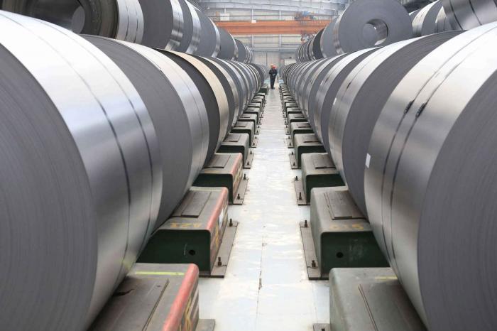 La production d'acier suisse soutenue par le chinois Hebei Iron & Steel Group