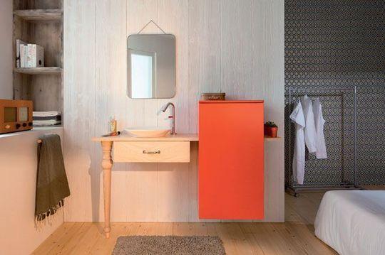 Le cuivre s'invite dans la décoration des cuisines et des salles de bain