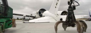 recyclage des avions