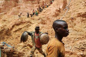 Le phénomène de la ruée vers l'or en Afrique