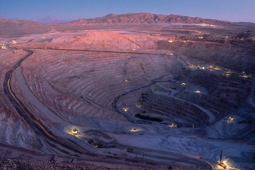 Cuivre : les plus grandes mines au monde en suspension