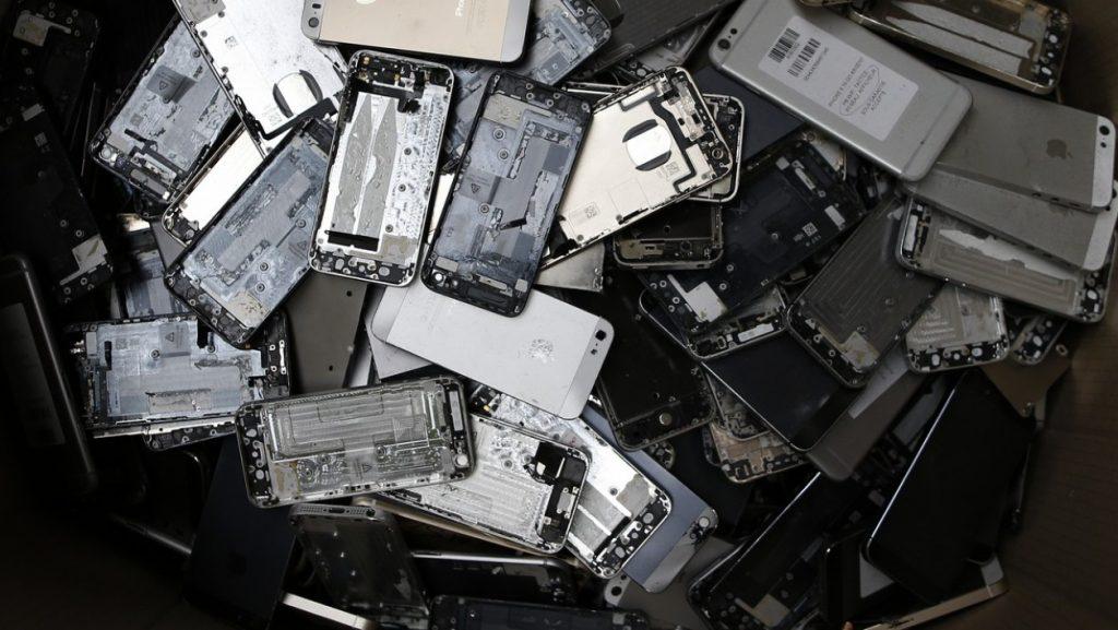 Les métaux des Smartphones sont récupérés puis recyclés, découvrez comment